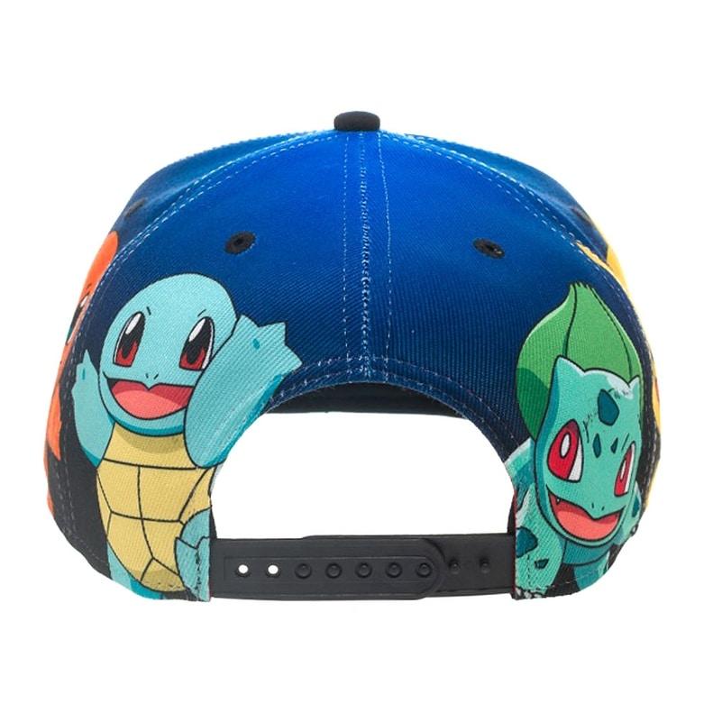 4f84fa56fe7f68 Shop BIOWORLD Pokemon The Original Starters Blue Gradient Snapback Cap -  Free Shipping On Orders Over $45 - Overstock - 17429928