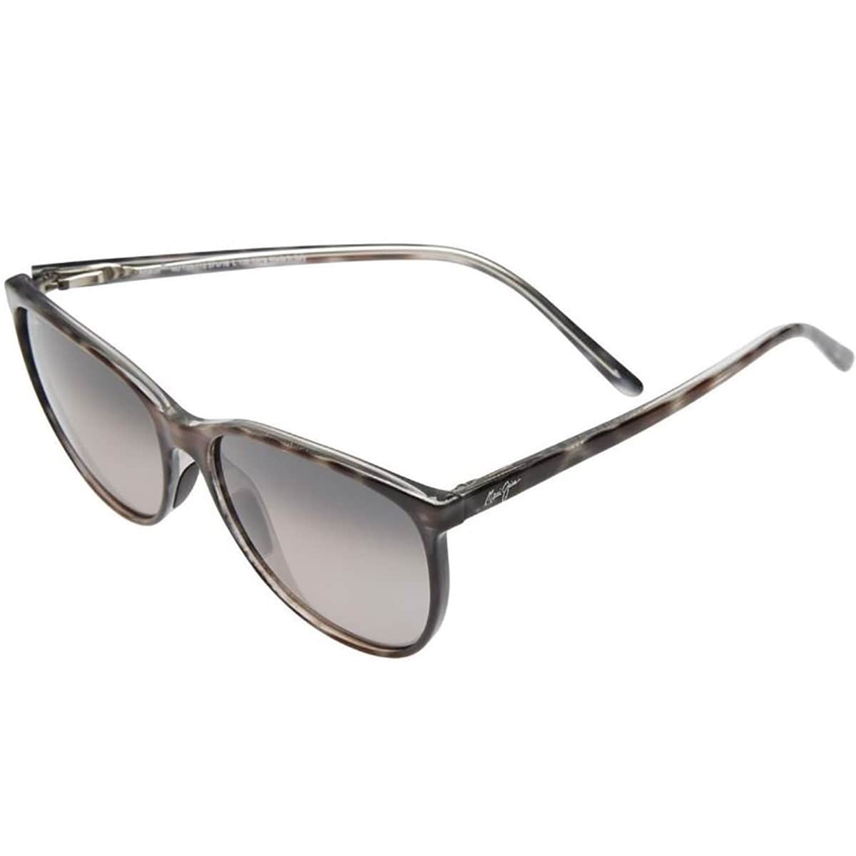 111581b3644 Shop Maui Jim Style 723 Ocean Polarized Cat Eye Sport Sunglasses - gray  tortoise stripe neutral gray - One size - Free Shipping Today - Overstock -  19967913