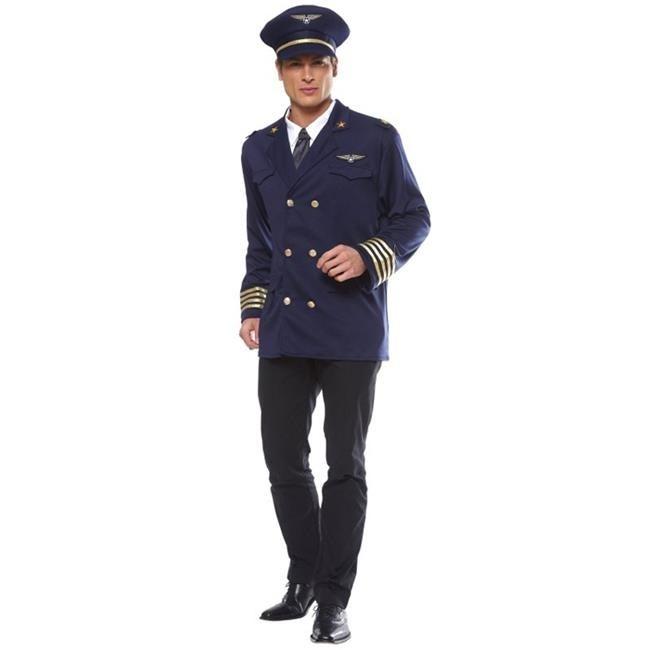 b08f6bf50 Franco American Novelty 49602-XL Costume Pilot Jacket Adult - X-Large