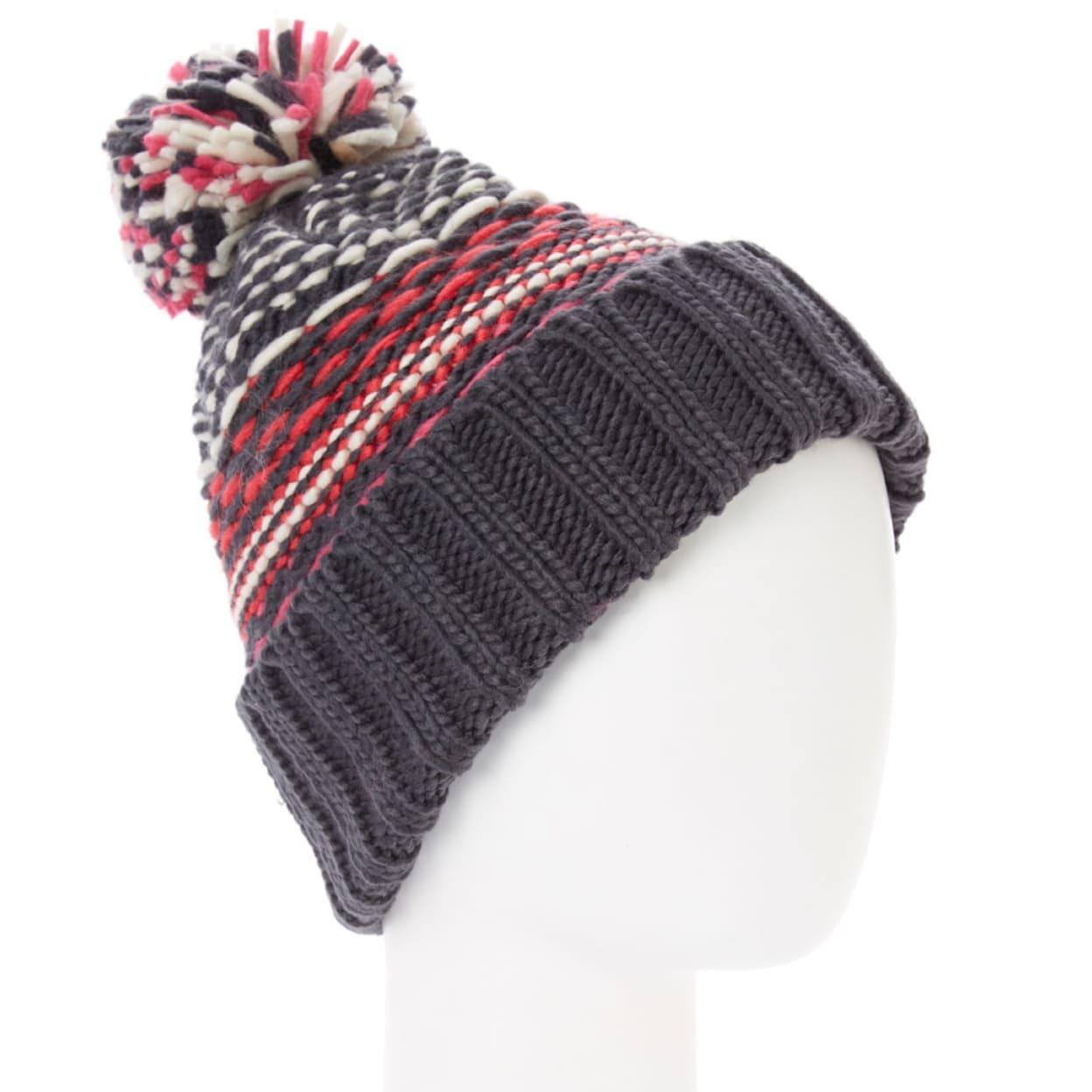 91c9c7cc8 Unisex Multicolor Stripe Pom-Pom Beanie Winter Casual Hat Snow Cap Winter  Warm Soft Cozy Christmas Holidays Gift