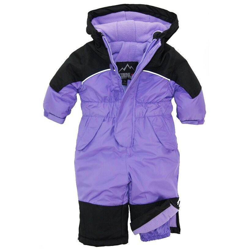 6b5cb510b21b Shop iXtreme Baby Girls Snowmobile Snowboarding Ski Winter Puffer ...
