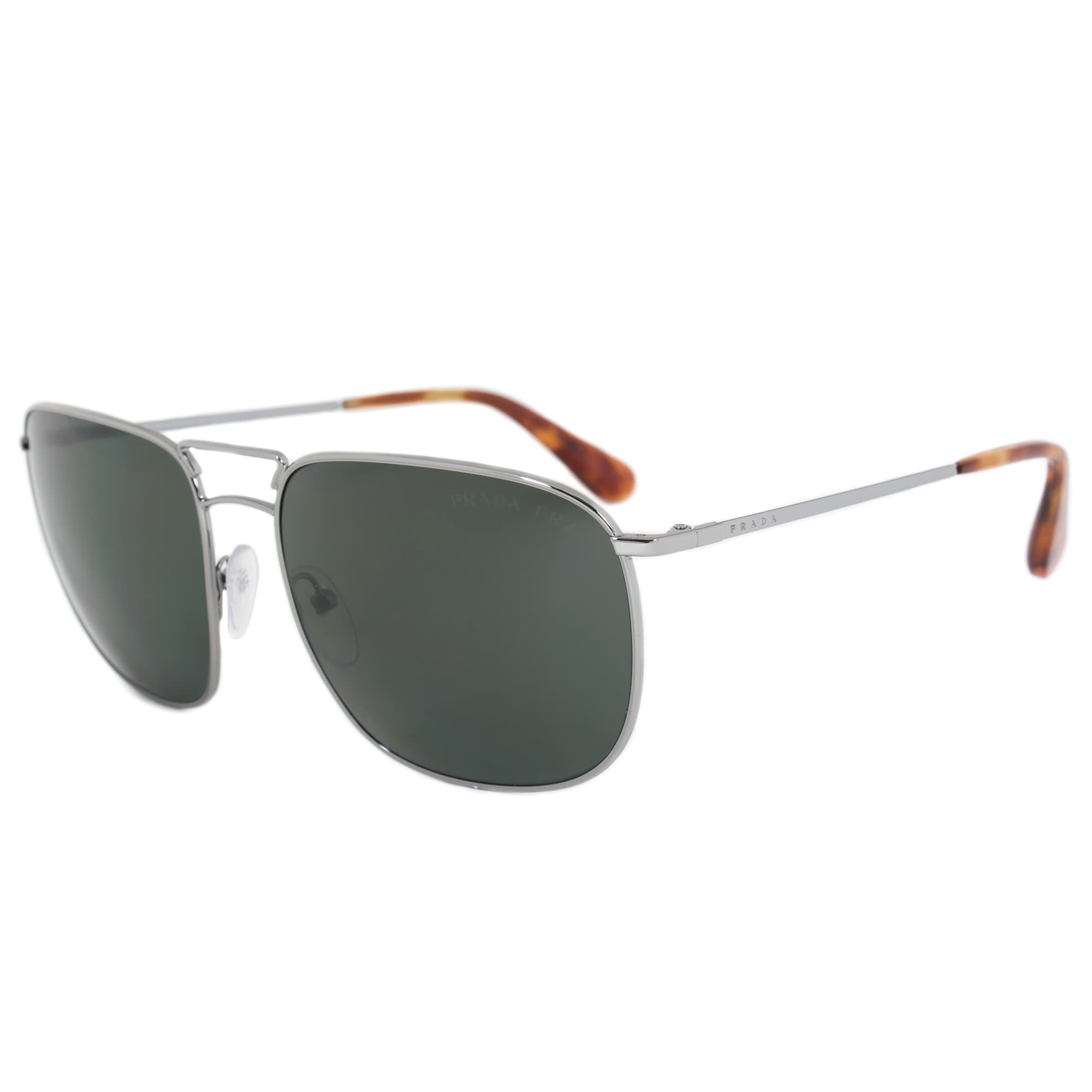 9862207427fe Shop Prada Eyewear Collection Square Sunglasses PR52TS 5AV6P0 60 POL ...
