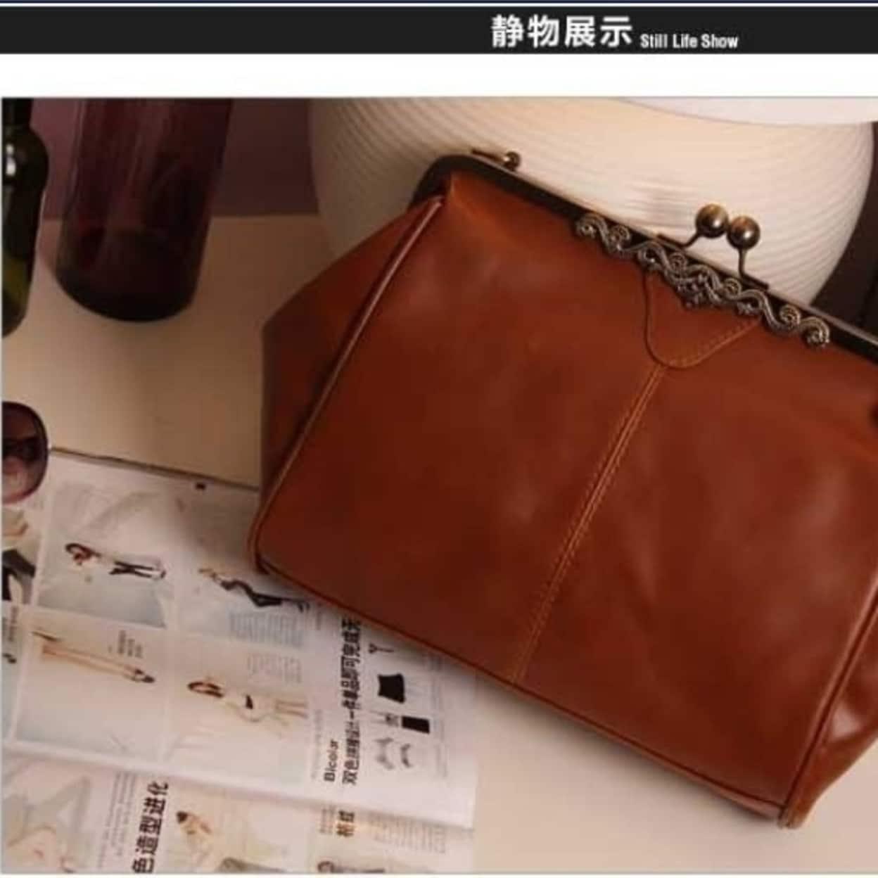 a94cfceb32 Shop Women Messenger Bags Bolsas Femininas Desigual Shoulder Crossbody Bag  PU Leather Retro Clip Lock Black White Blue - On Sale - Free Shipping On  Orders ...