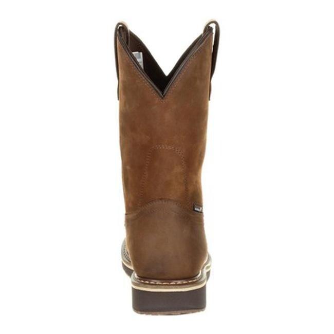 8c5de1214ff Rocky Men's Cody Steel Toe WP Brown Western Boot RKW0239 Brown Full Grain  Leather