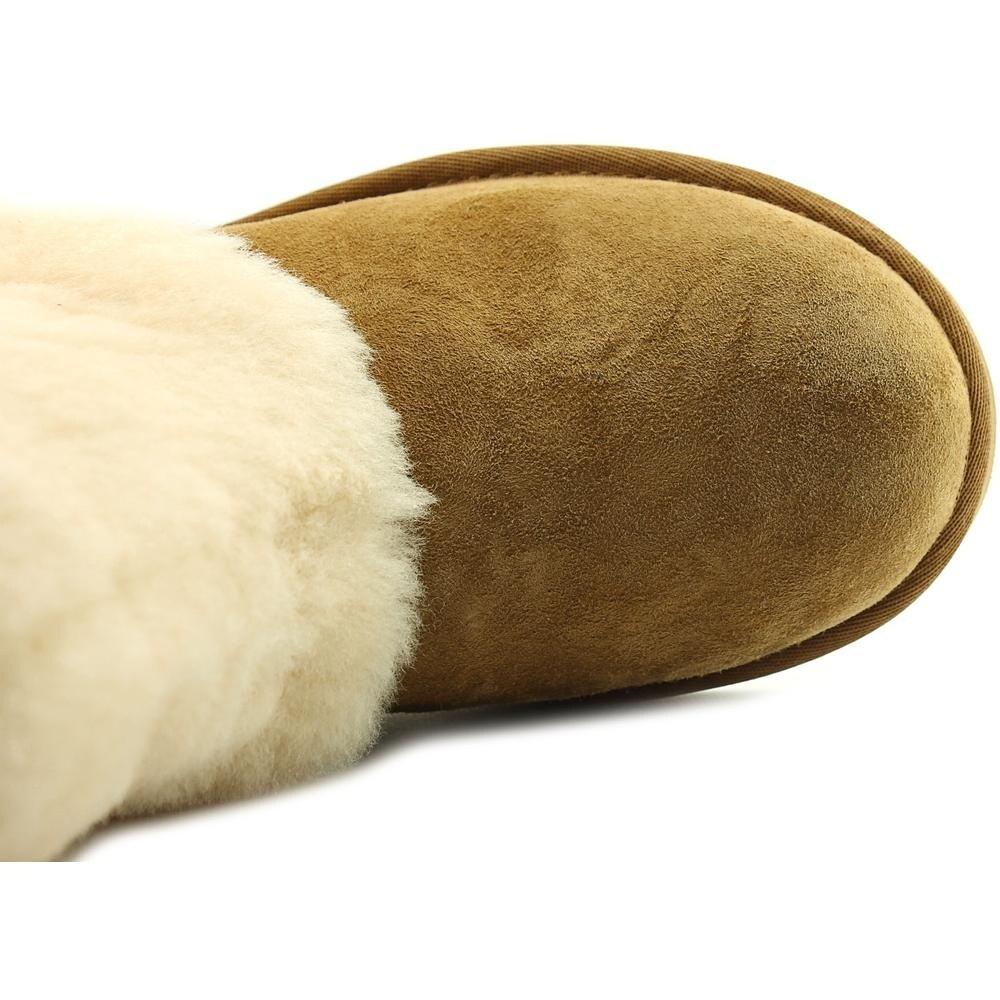 927f20a7d07 Ugg Australia Patten Women Round Toe Suede Tan Winter Boot