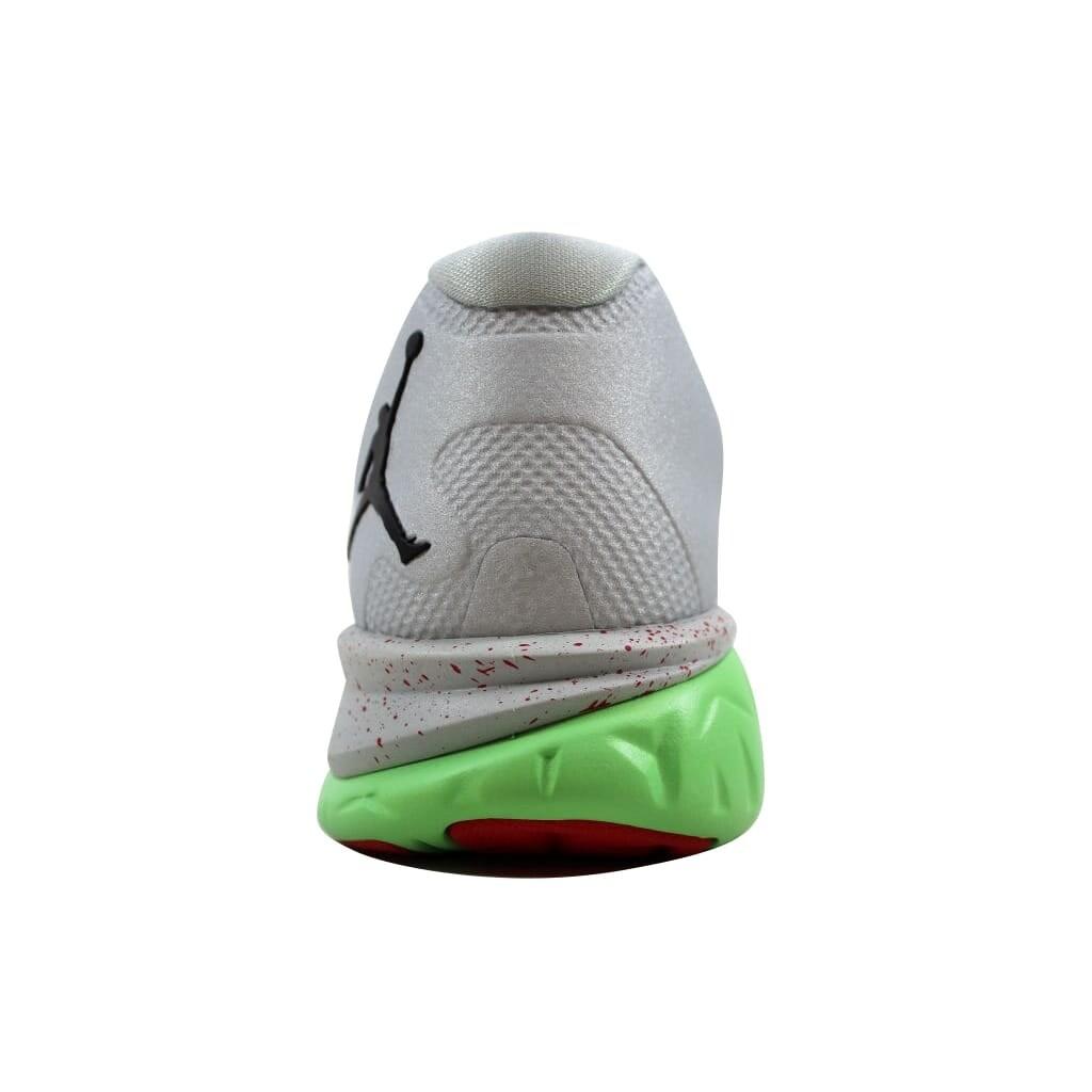 052349b16797 Shop Nike Men s Air Jordan Flight Runner 2 Grey Mist Black-University Red  715572-016 - Free Shipping Today - Overstock - 21893568