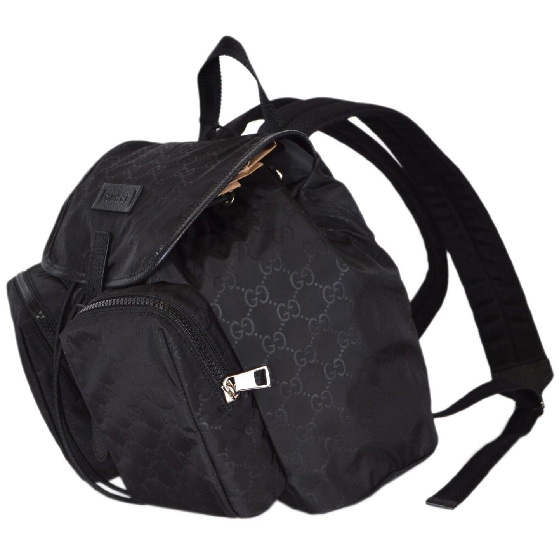52ac8cf296f4 Gucci Black Nylon Backpack- Fenix Toulouse Handball