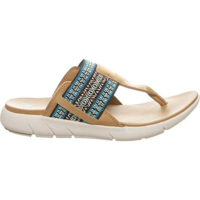 68fdb2288 Shop Bearpaw Women s Dakota Thong Sandal Sand Elastic Strap - On Sale -  Free Shipping On Orders Over  45 - Overstock - 20691112