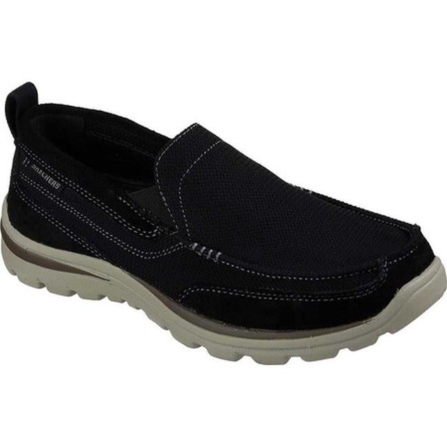 db9cffeb3c5b Shop Skechers Men s Relaxed Fit Superior Milford Black - On Sale ...