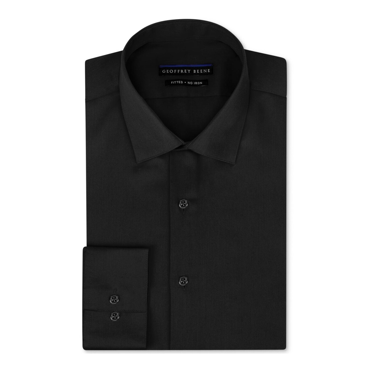 Shop Geoffrey Beene Mens Dress Shirt Non Iron Fitted Free Shipping