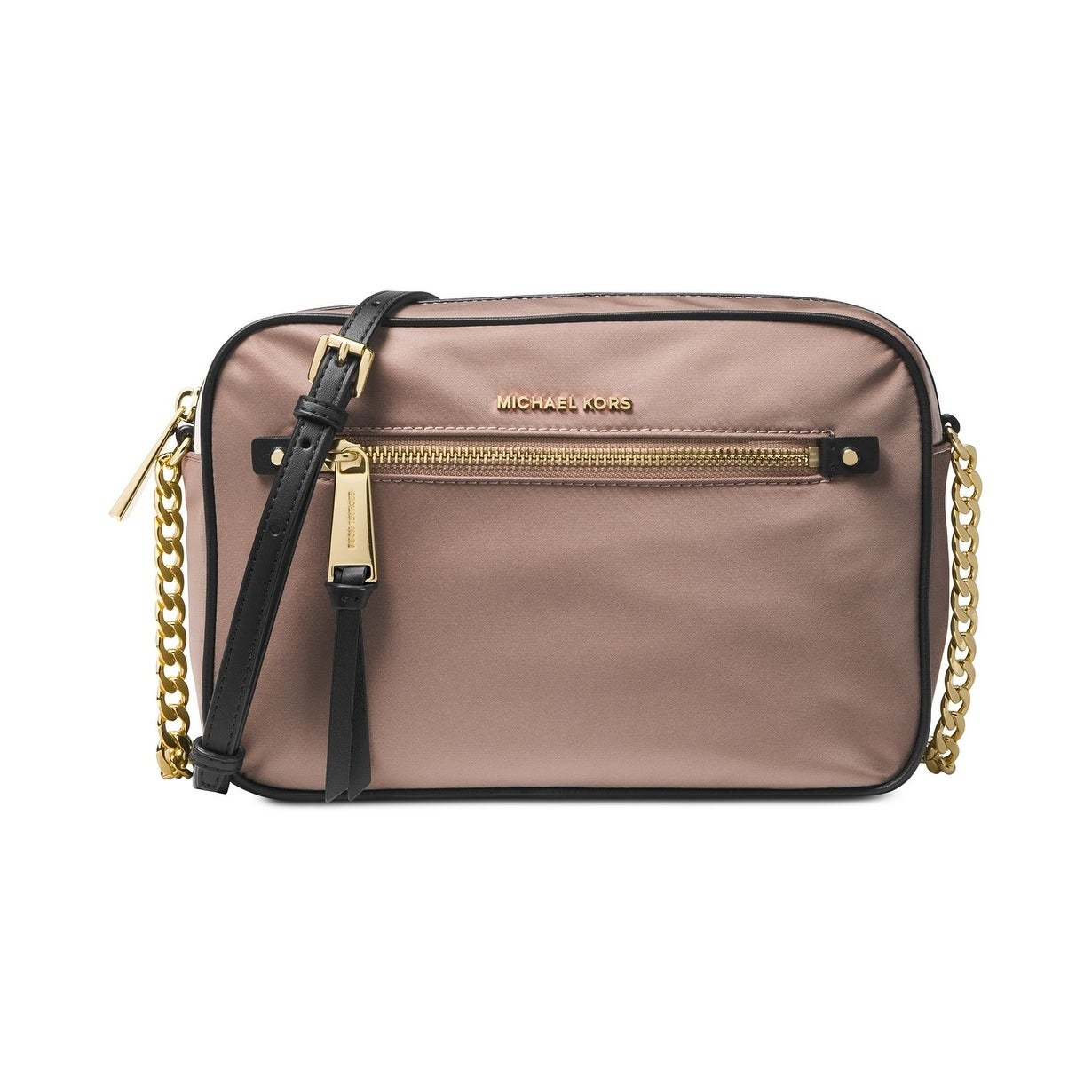 831f1bfbd14 Shop MICHAEL Michael Kors Polly Large Nylon Crossbody - Free Shipping Today  - Overstock.com - 26632286