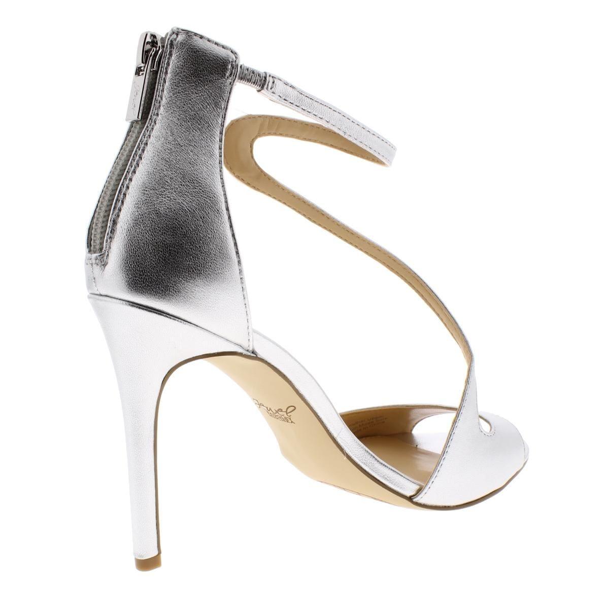 795d282d7b9 Shop Jewel Badgley Mischka Womens Tayler Evening Sandals Leather Metallic -  Free Shipping Today - Overstock - 27784128
