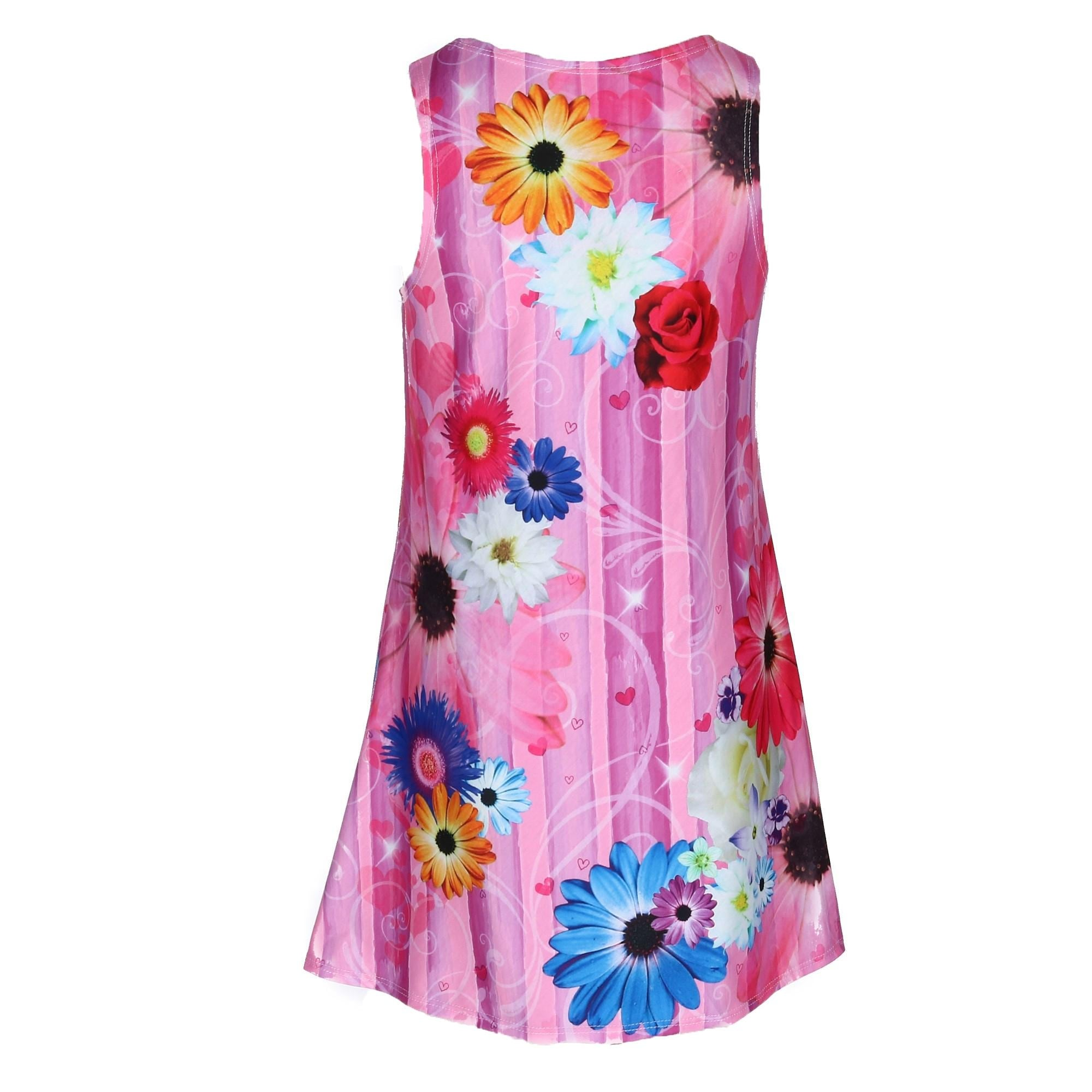 42b08c3e12453 Shop Disney Girl's Princess Cover Up Tank Dress - Free Shipping On Orders  Over $45 - Overstock - 27600717