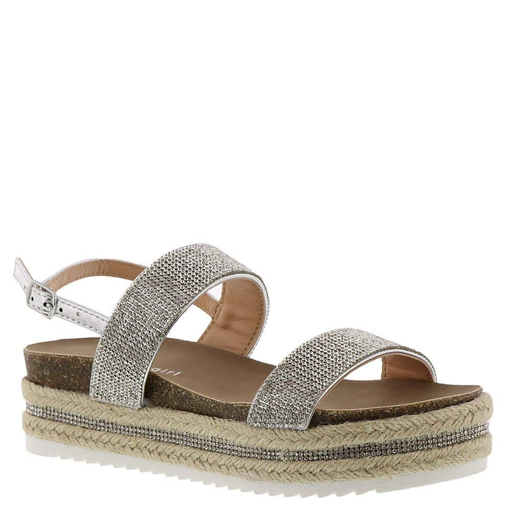 be0992d4d1de Shop Madden Girl Womens Glitzie Open Toe Special Occasion Slingback Sandals  - Free Shipping On Orders Over  45 - Overstock - 23591952
