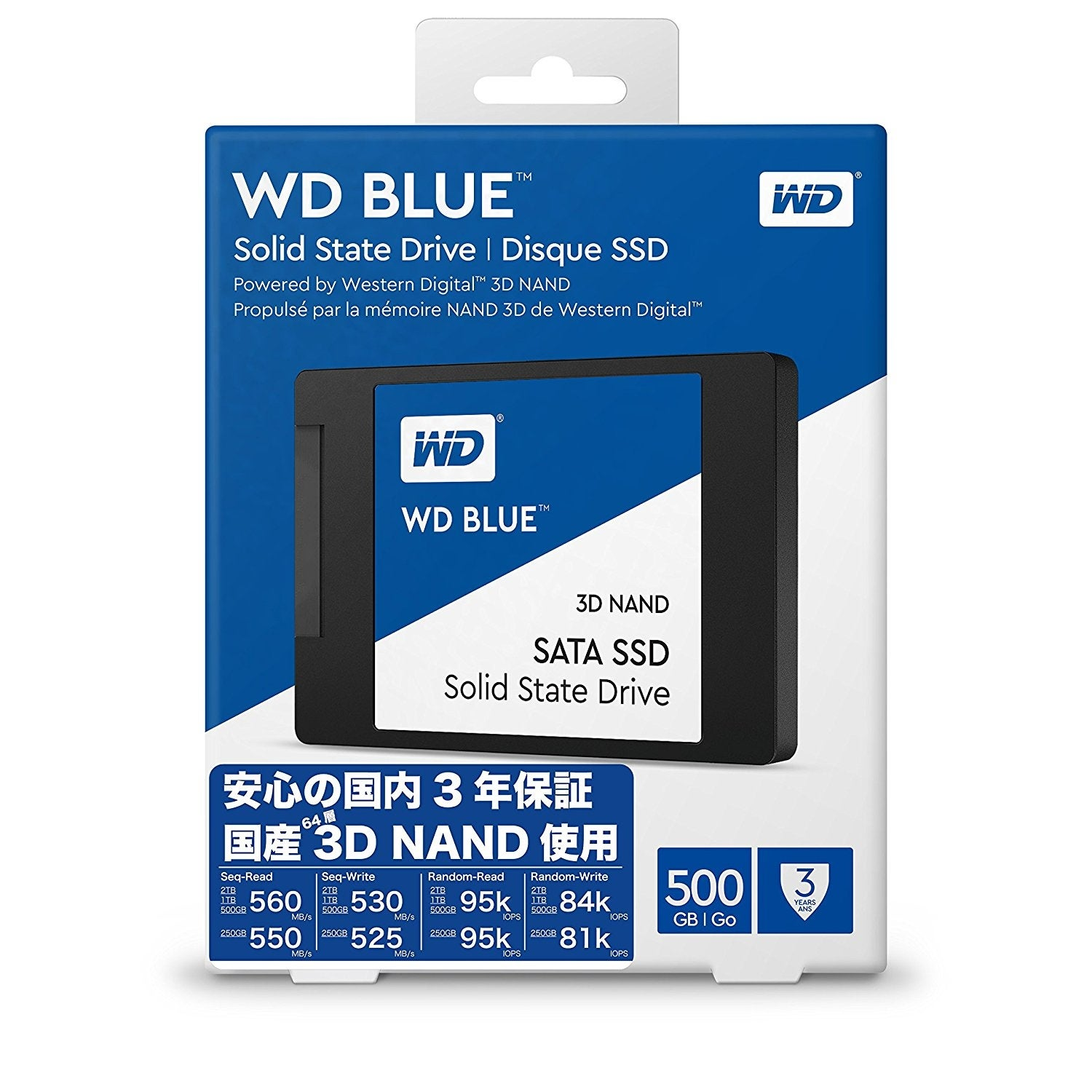 Shop Wd Blue 3d Nand 500gb Pc Ssd Sata Iii 6 Gb S 25 7mm Solid Hardisk Internal State Drive Wds500g2b0a Free Shipping Today 19579598