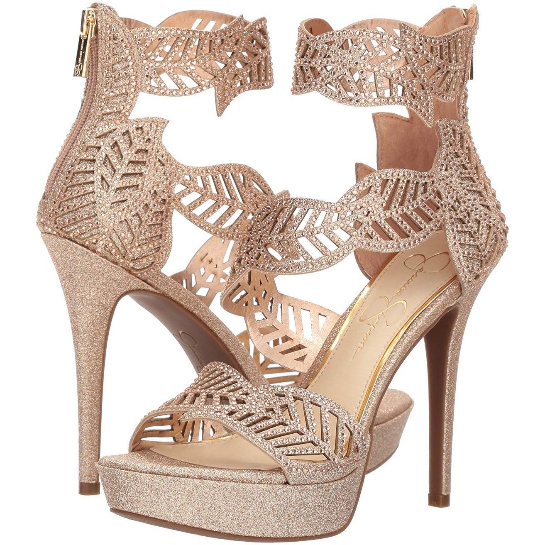 a4e7174e070 Shop Jessica Simpson Women s Bonilynn Heeled Sandal - Free Shipping Today -  Overstock - 24218476