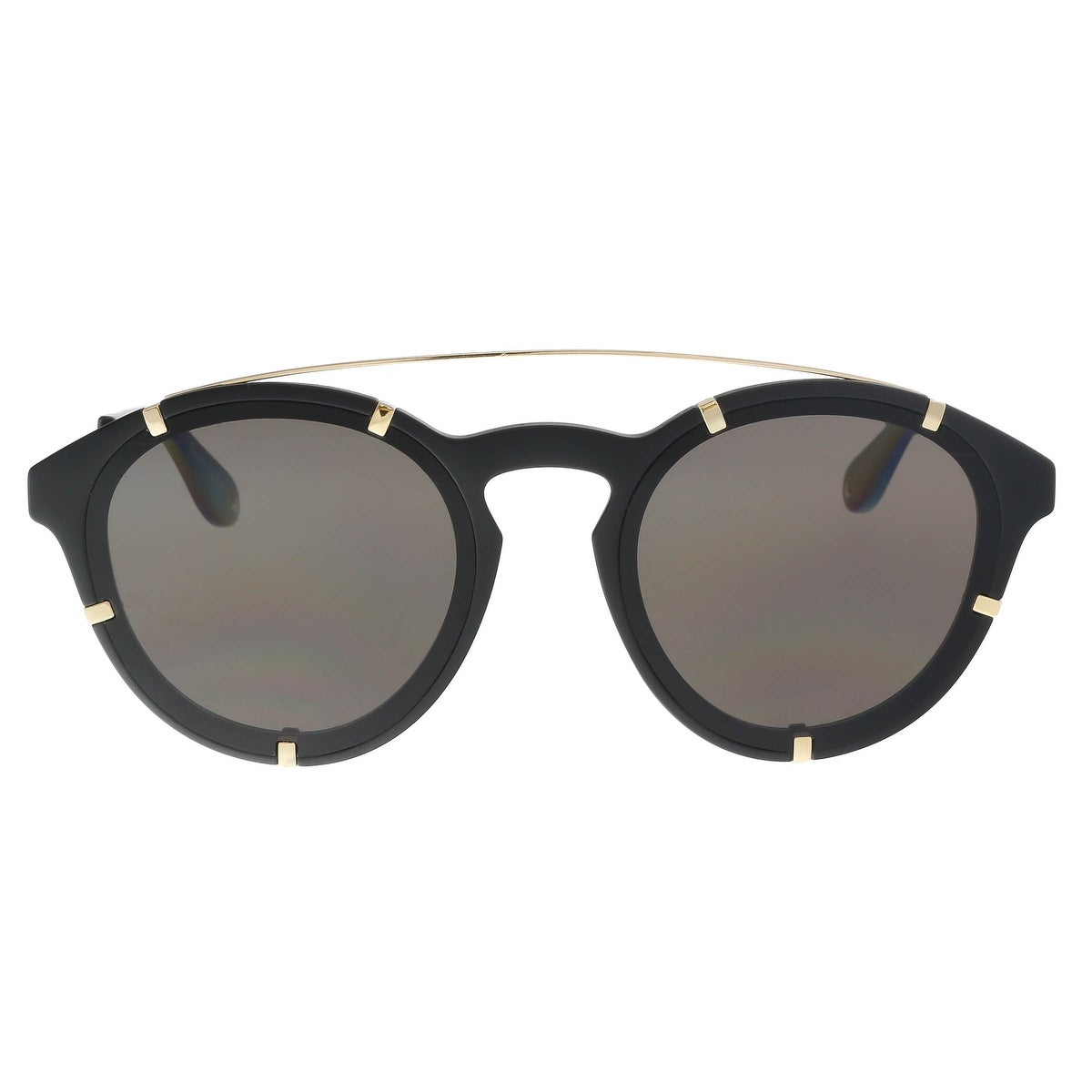 7b6594474e4 Shop Givenchy GV 7088 S 02M2 Black Gold Round Sunglasses - 54-19-150 - Free  Shipping Today - Overstock - 22866103