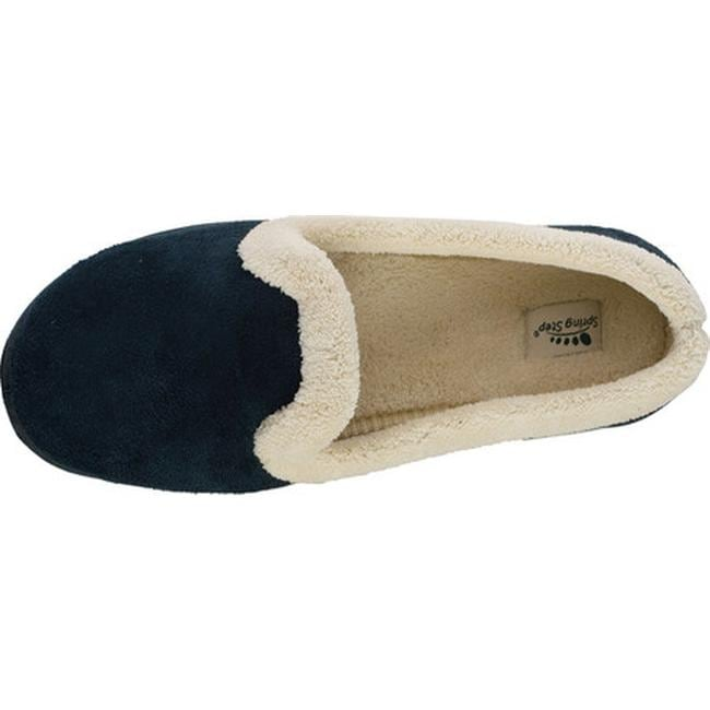 62464a381e61f Shop Spring Step Women's Isla Navy Micro Suede - Free Shipping On Orders  Over $45 - Overstock - 7938461