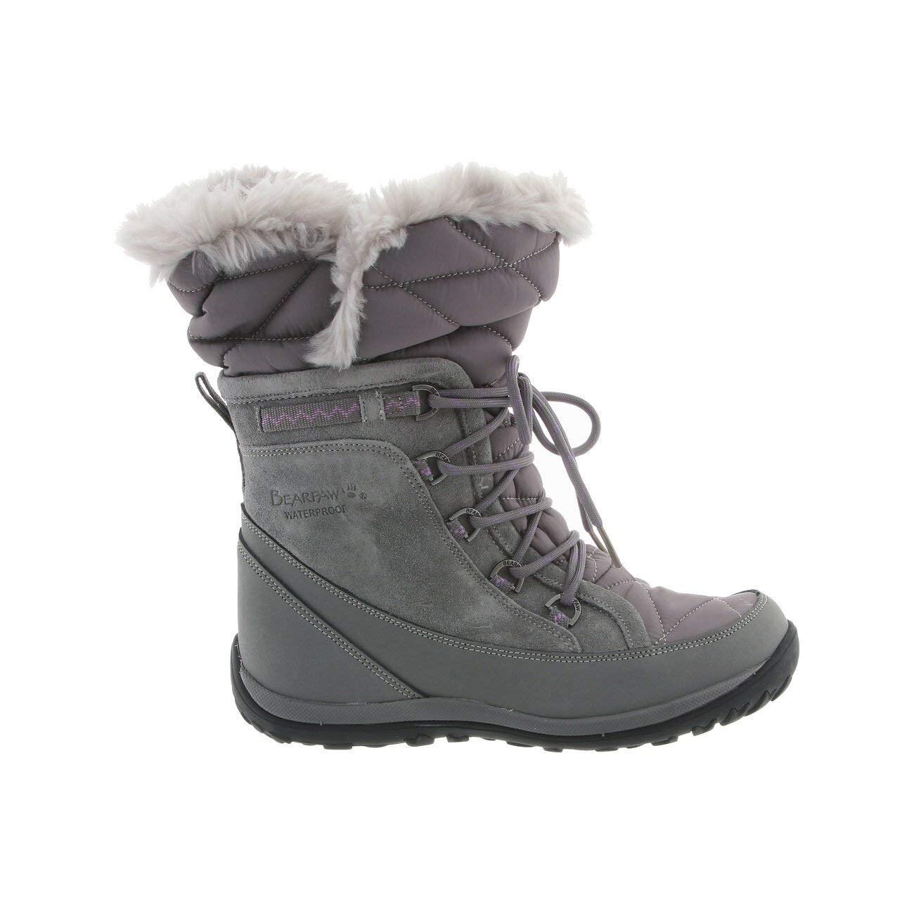 Shop Bearpaw Damenschuhe Calf whitney Closed Toe Mid Calf Damenschuhe Cold Weather Stiefel ... 8d3ecb