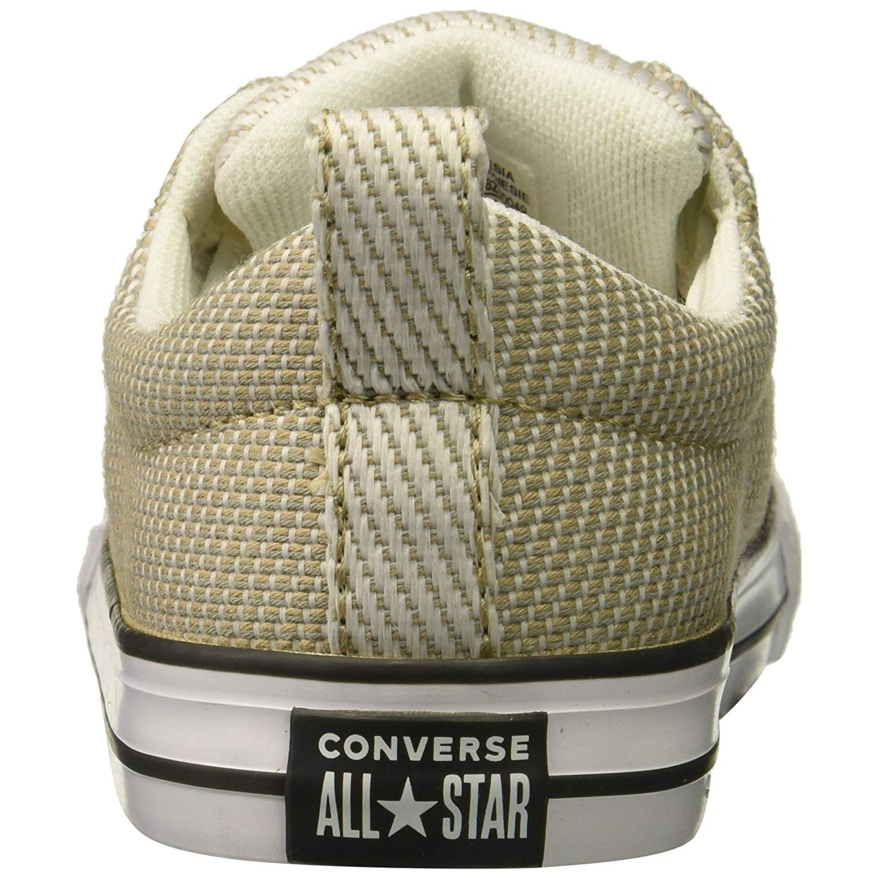Shop Converse Kids  Street Woven Canvas Slip on Sneaker - vintage khaki  dolphin white - Free Shipping On Orders Over  45 - Overstock.com - 26232574 18f474c0a