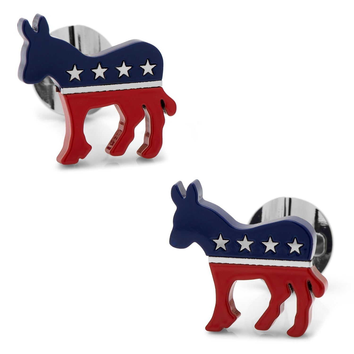 Shop Stainless Steel Democratic Donkey Cufflinks - Free Shipping ...