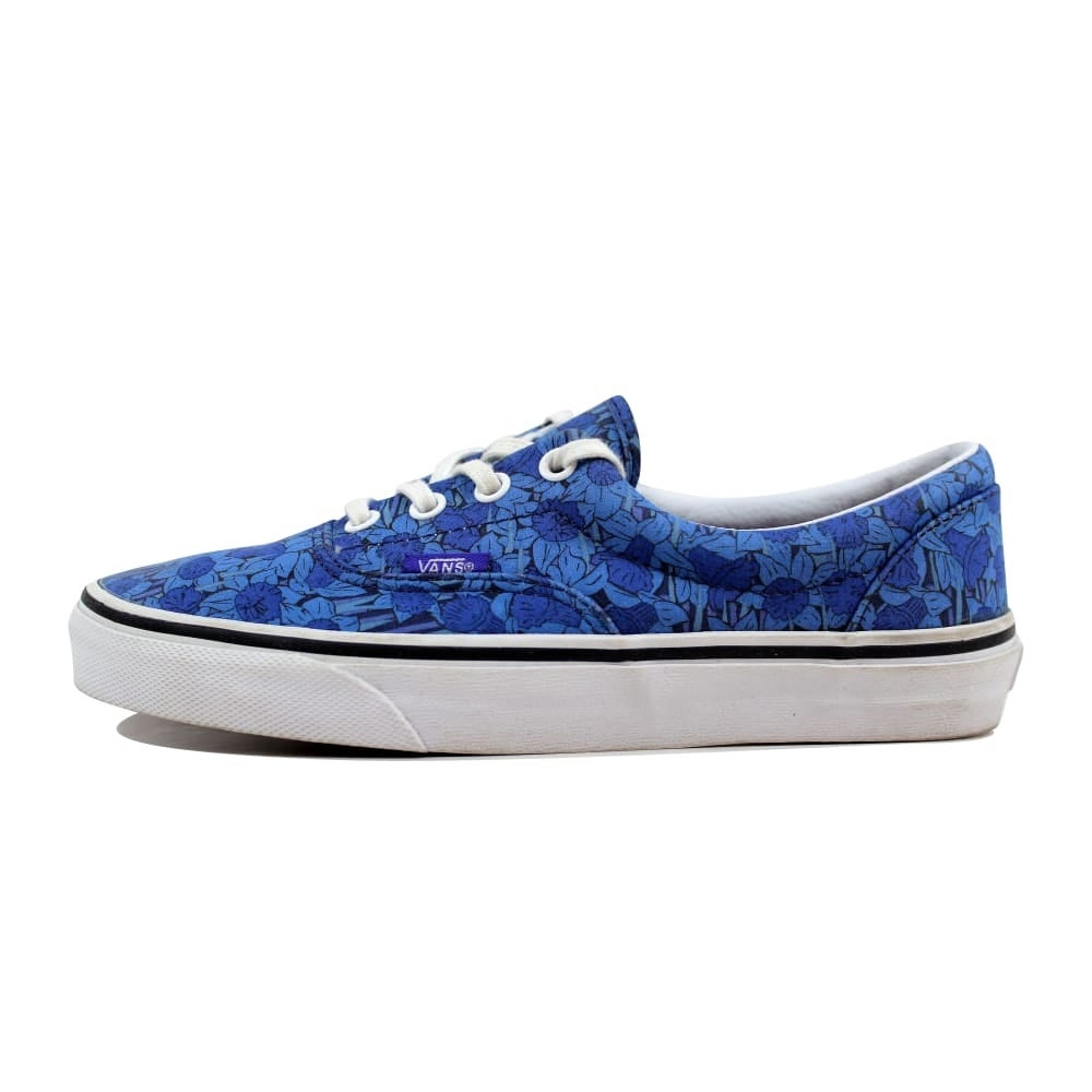 26580ecd870823 Shop Vans Liberty Era Blue Floral Stripe VN-0Y6XFHL Men s - Free Shipping  Today - Overstock - 23436828