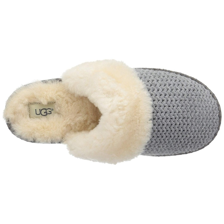 a4483793c570d Shop UGG Women's Aira Knit Slip on Slipper - 5 - Free Shipping Today -  Overstock - 24030772