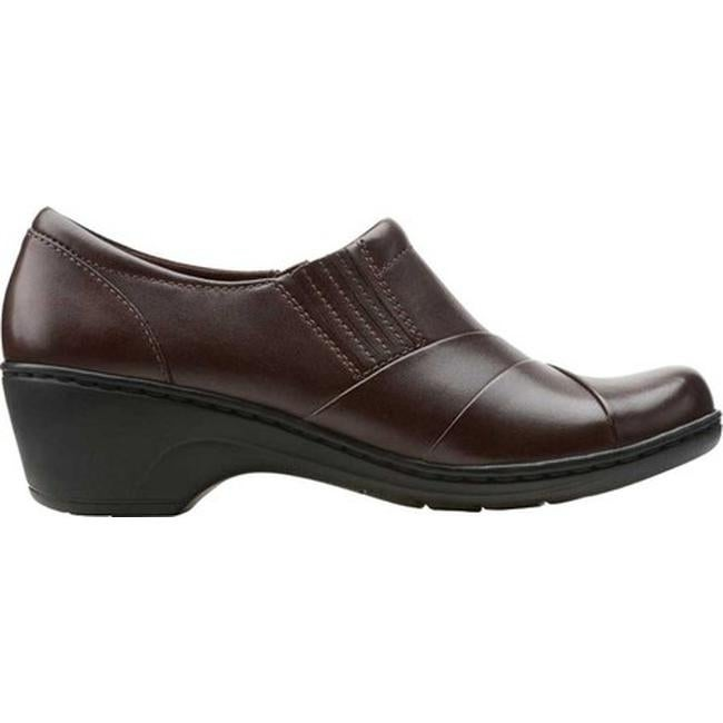 9a6f9de0569 Shop Clarks Women s Channing Essa Brown Cow Full Grain Leather - On Sale -  Free Shipping Today - Overstock - 20590101
