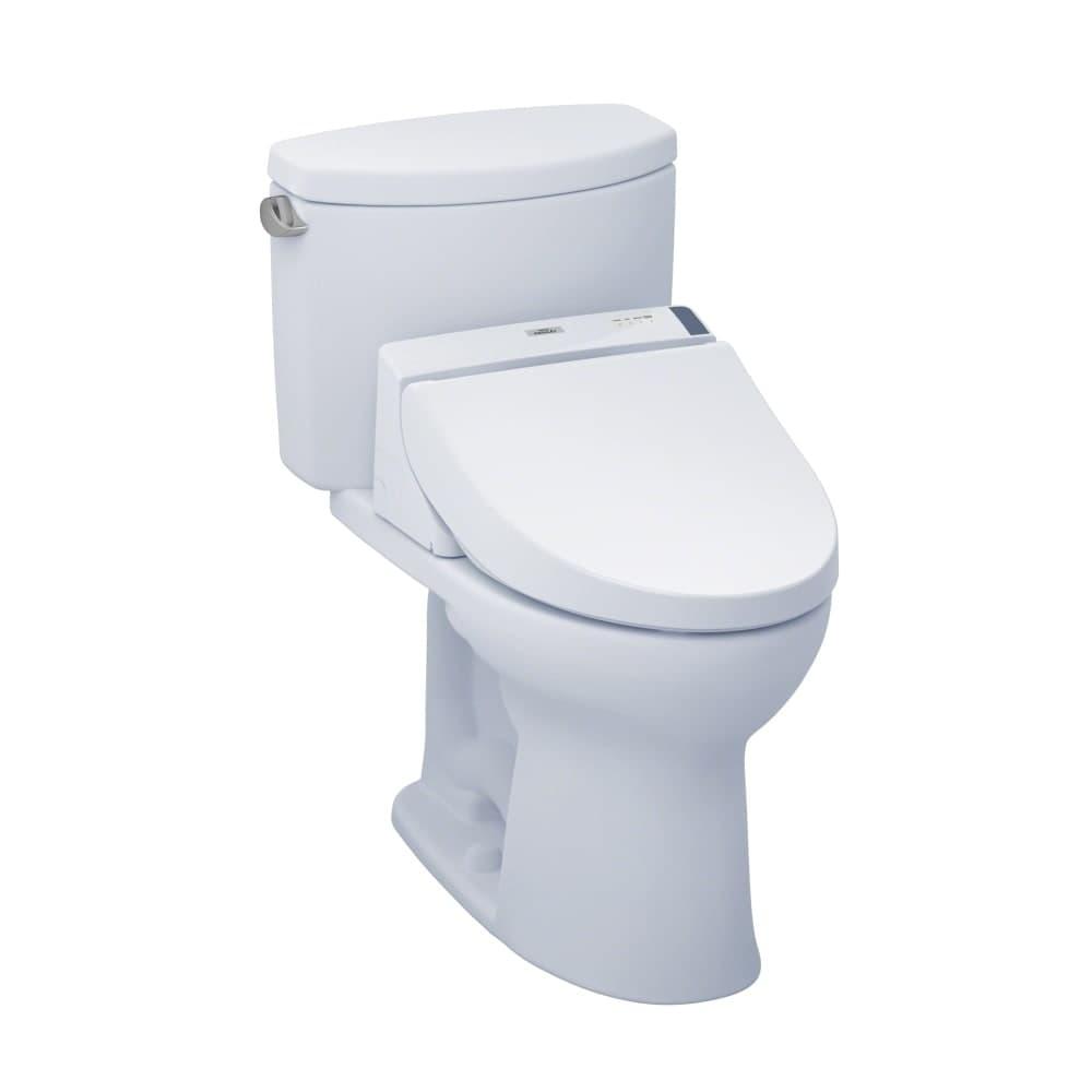 Shop Toto MW4542044CEFG Drake II 1.28 GPF Two-Piece Elongated Toilet ...