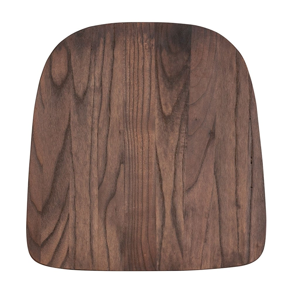 Shop offex contemporary textured rustic walnut wood seat for colorful metal chairs free shipping on orders over 45 overstock com 25485346