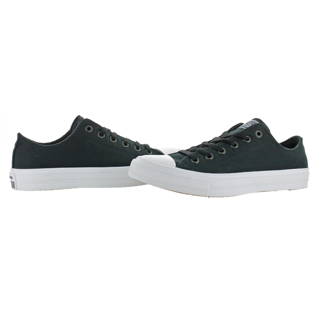 fe8ebd5ae2d5 Shop Converse Mens Chuck Taylor II Sneakers Canvas Low Top - Free Shipping  Today - Overstock - 22311392