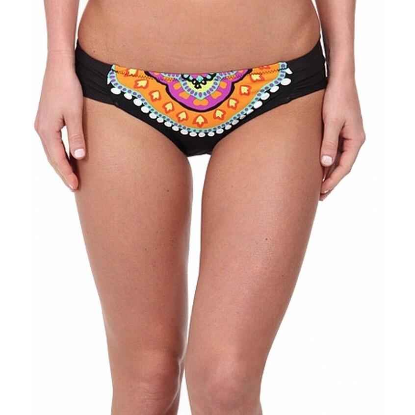 0c8c249b22 Shop Trina Turk NEW Black Orange Women's 4 Nuevo Sol Hipster Bikini Bottom  - Free Shipping On Orders Over $45 - Overstock - 20574175
