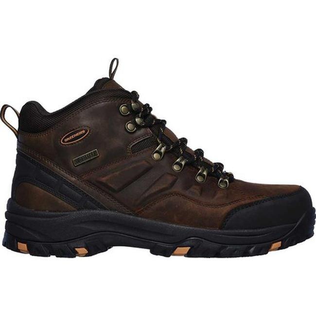 7c73ec5b32d9d Shop Skechers Men's Relaxed Fit Relment Traven Hiking Boot Brown ...