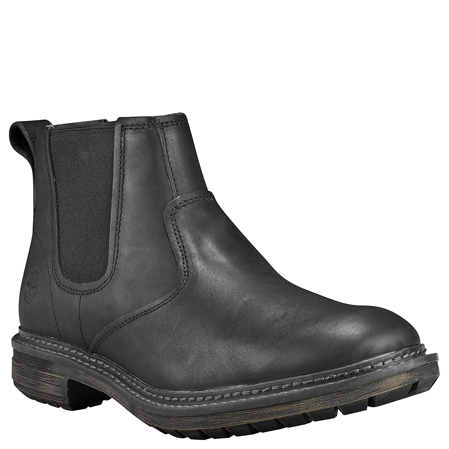 d57e62d0a Shop Timberland Mens TB0A1V4Z358 Leather Round Toe Ankle Motorcycle Boots -  Free Shipping Today - Overstock - 26628692
