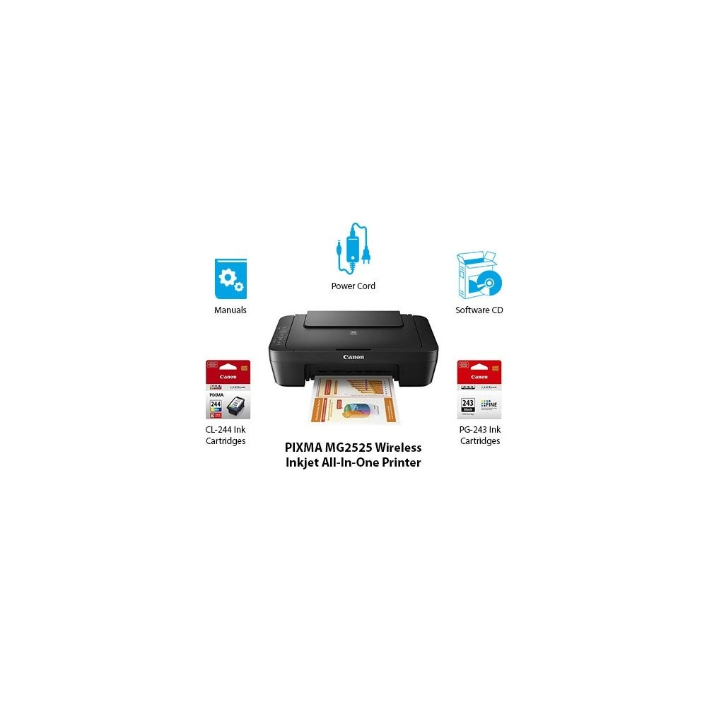 Canon Pixma Mg2525 Mf Printer Multifunction Printer