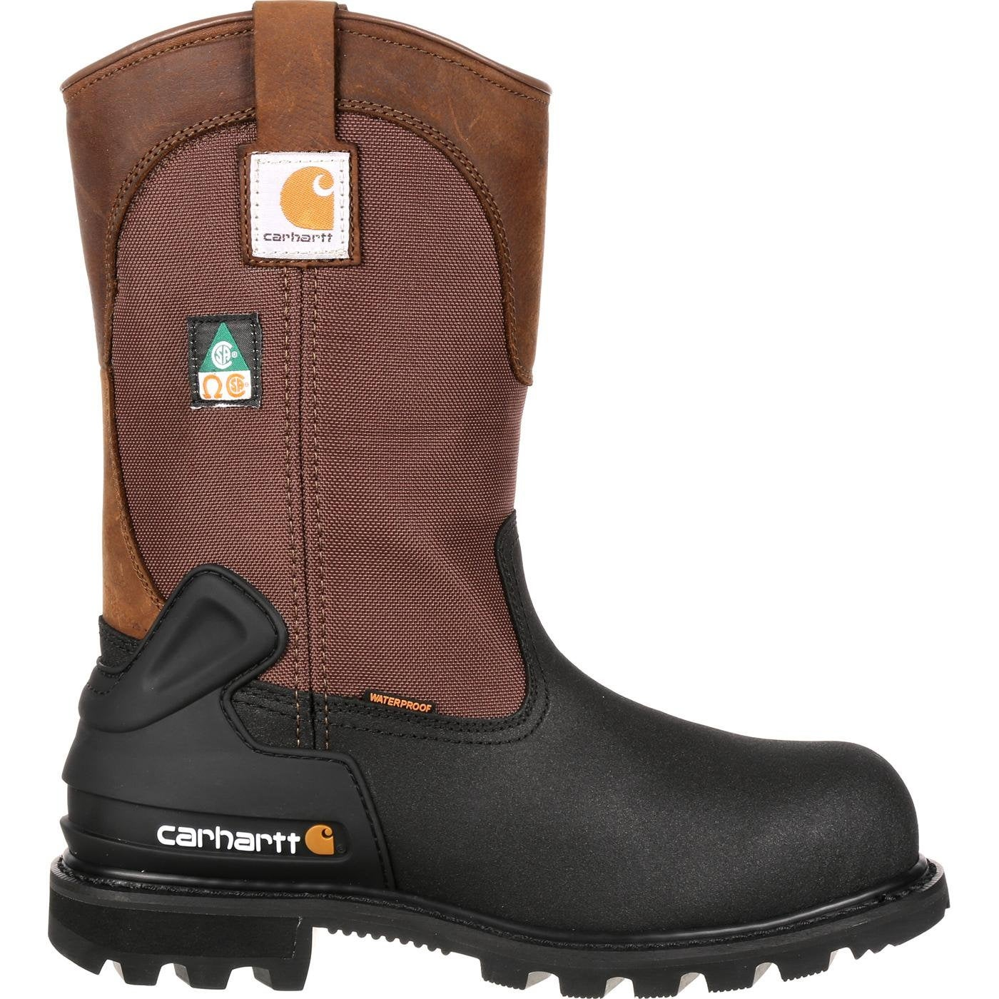 bfa80c03185 Carhartt CSA-Approved Steel Toe Puncture-Resistant Wellington Work Boot