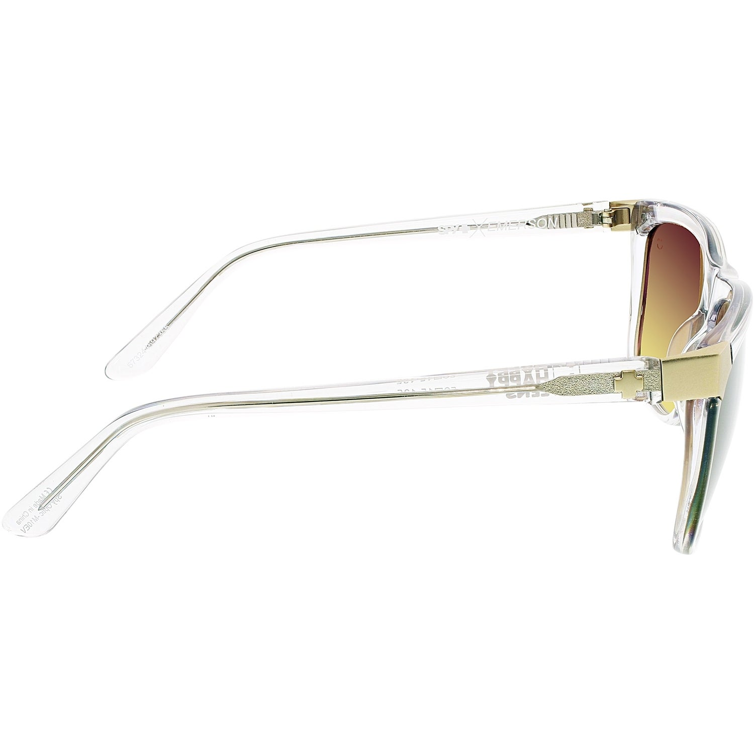 071ac361f5 Shop Spy Men s Gradient Emerson 673244597355 Clear Square Sunglasses - Free  Shipping Today - Overstock - 18901000