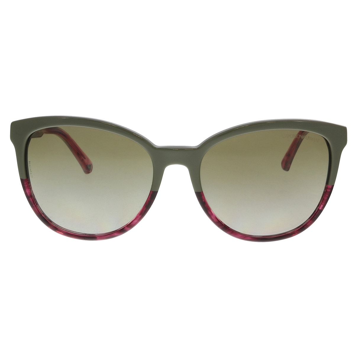 b0a221b4c2 Shop Emporio Armani EA4101 556913 Military  Striped Pink Cat Eye Sunglasses  - 56-17-140 - On Sale - Free Shipping Today - Overstock - 21335368
