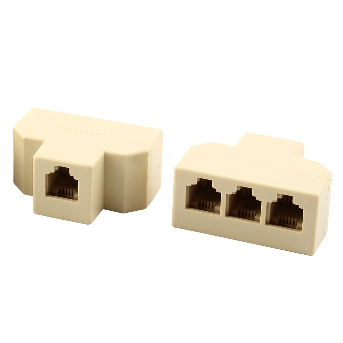 Shop Plastic Rj11 1 To 3 Female Telephone Cable Line Ethernet How Wire Phone On Socket Wiring Connections Connector Splitter 4pcs Free Shipping Orders Over 45 18444040