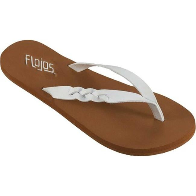 f4b03da0484a40 Shop Flojos Women s Serenity Flip Flop White Microfiber - On Sale - Free  Shipping On Orders Over  45 - Overstock - 20561572
