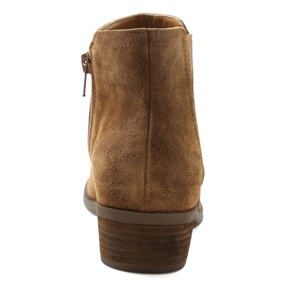95dce5fee34c Shop kensie Womens Garrett Leather Closed Toe Ankle Fashion Boots - Free  Shipping On Orders Over  45 - Overstock - 24307066
