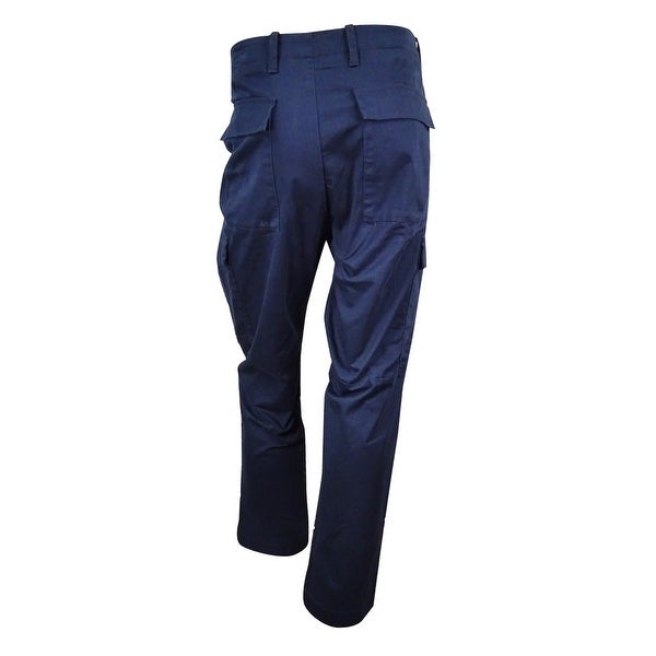 f35f867256 Shop Nautica Men's Modern Slim-Fit Cargo Pants (40x30, Double Navy) -  double navy - 40x30 - Free Shipping On Orders Over $45 - Overstock -  17605878