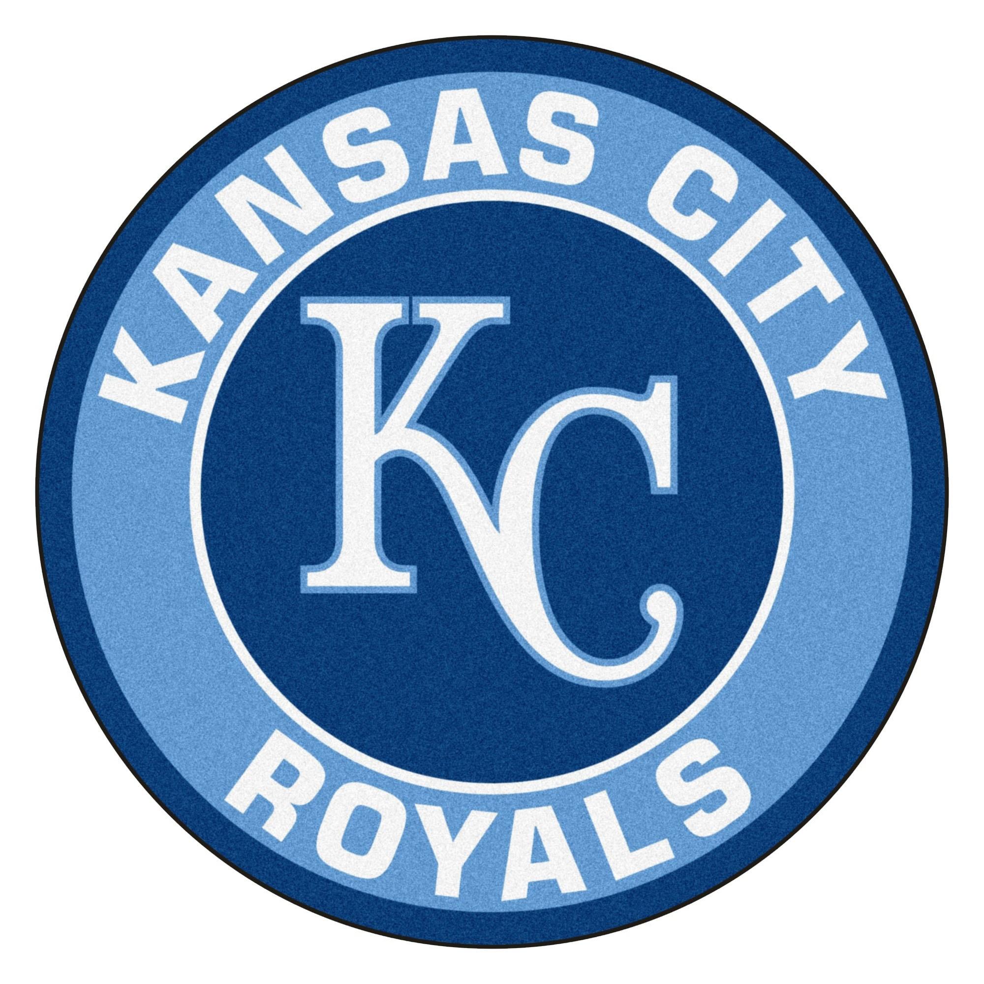 MLB Kansas City Royals Rounded Non-Skid Mat Area Rug - Free Shipping ...