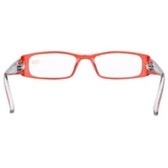 0e770120b82 Shop Eyekepper Spring Hinges Polka Dots Temples Rectangular Reading Glasses  Red +0.5 - Free Shipping On Orders Over  45 - Overstock - 16022807