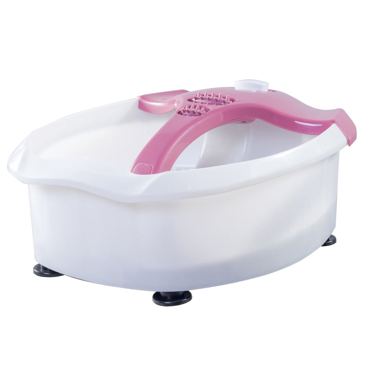 Shop Costway Electrical Foot Tub Basin Point Massage Health Spa Home ...