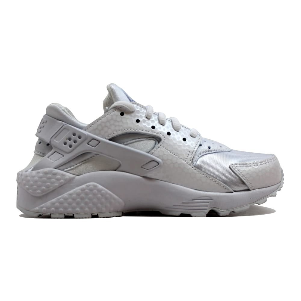 a4211bdf0aef9 Shop Nike Women s Air Huarache Run Premium White White 683818-100 Size 5.5  - Free Shipping Today - Overstock - 20139443