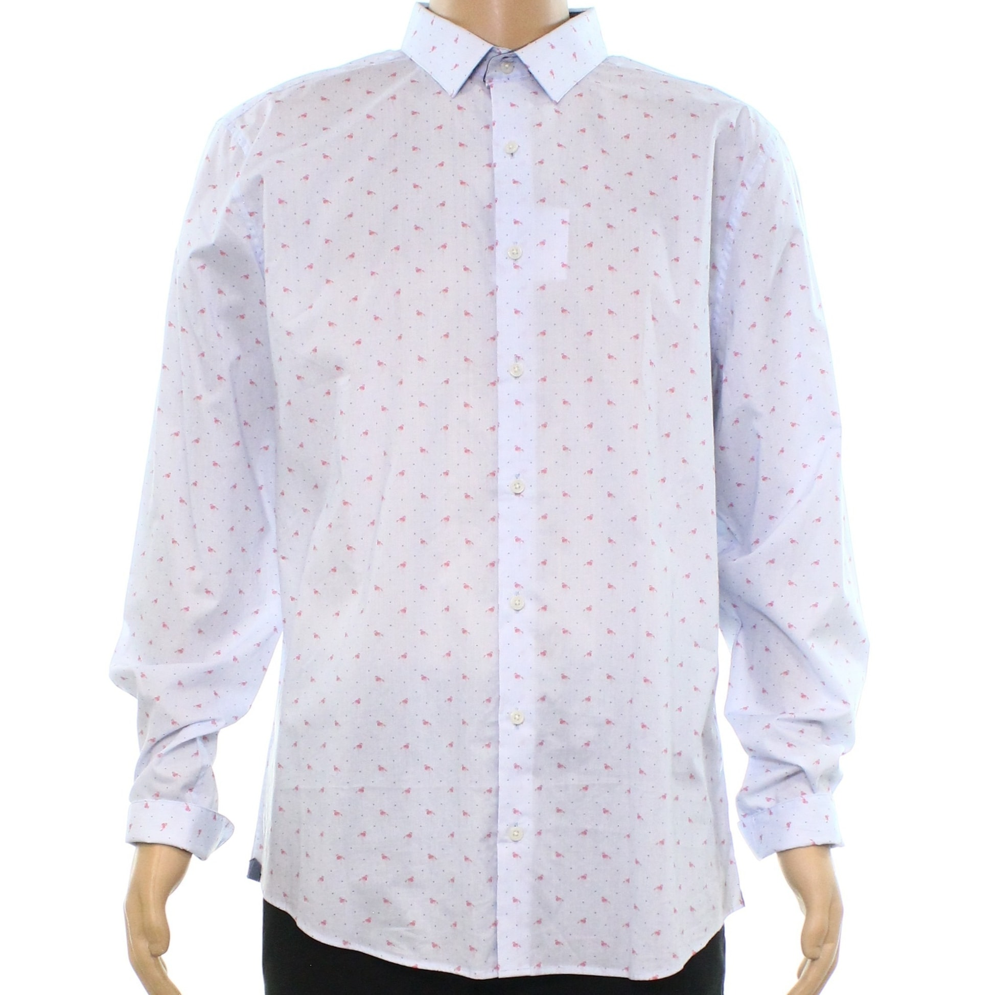 Shop Bar Iii Mens Small Wear Me Out Slim Fit Dress Shirt Free