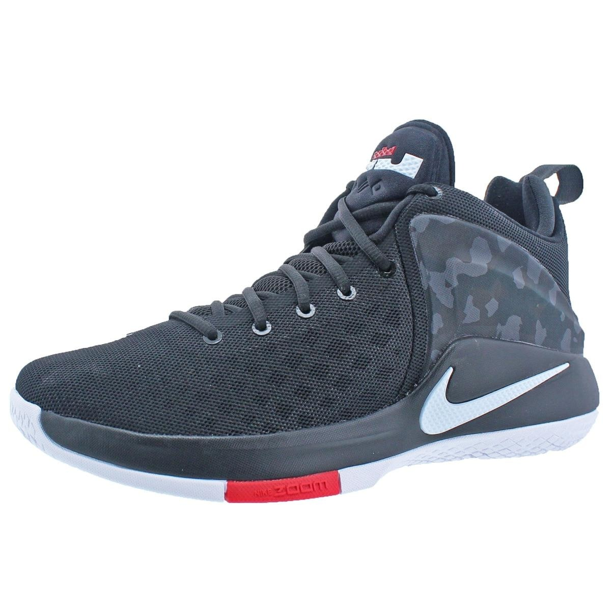 79c3f14442c79 Shop Nike Mens Zoom Witness By LeBron James Basketball Shoes Lightweight  Mid-Top - Free Shipping Today - Overstock - 22311432