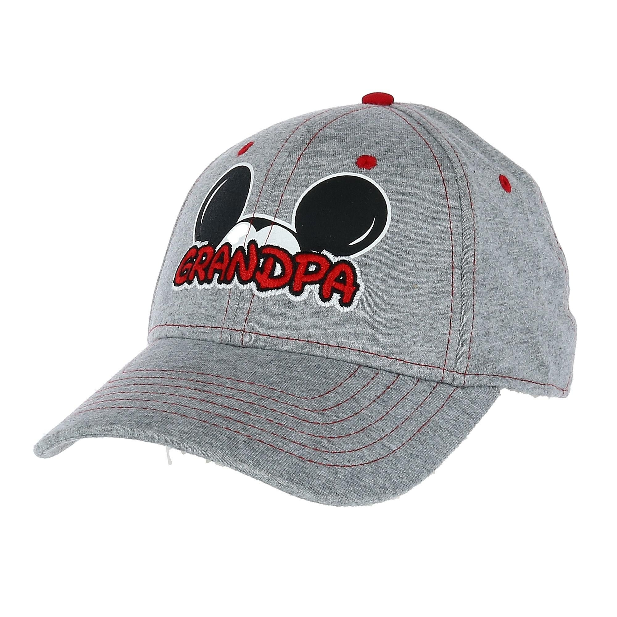 ffc85c3b31ba44 Shop Disney Men's Mickey Mouse Grandpa Fan Baseball Cap - Free Shipping On  Orders Over $45 - Overstock - 24203469