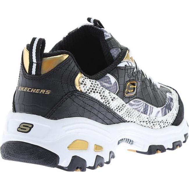 Skechers Skechers Women's D'Lites Runway Ready Athletic Shoes, White 8.0 from SKECHERS | ShapeShop